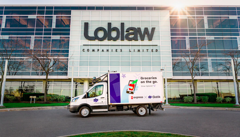 Loblaw to test autonomous delivery vehicles in Greater Toronto Area in January