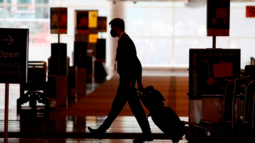 Future of business travel unclear as virus upends work life