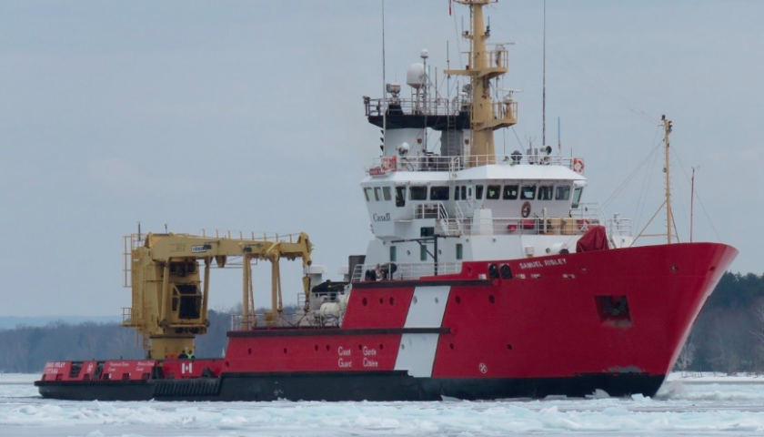Canadian Coast Guard begins annual icebreaking operations on the Great Lakes, essential service for economic activity