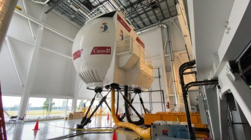 Coast Guard's training includes Canadian-made helicopter simulator