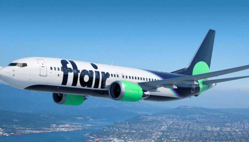 Flair Airlines adds low fare air travel to 4th destination in Alberta