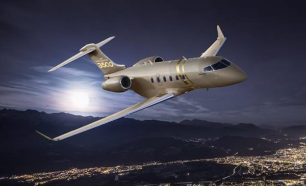 Bombardier introduces the new challenger 3500 aircraft, industry's best super mid-size business jet